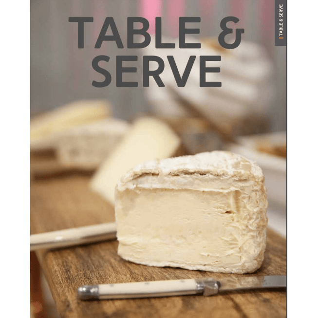 table and serve